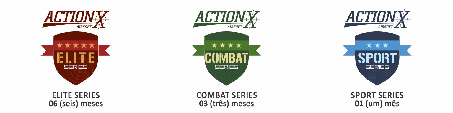 Selos Garantia ActionX Airsoft