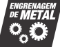 Selo Engrenagem de metal