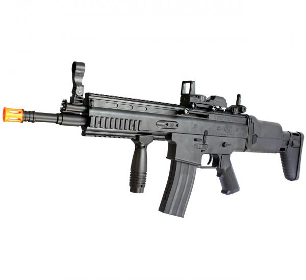 AS000267 – AIRSOFT RIFLE SCAR MOLA PLAST. BK – 6MM – prespectiva (1)