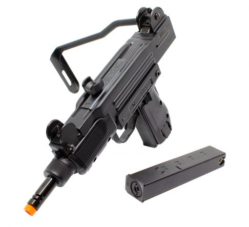 25206738 – AIRSOFT SUB-METRALH KWC MINI UZI CO2 BLOW BACK ELET – prespectiva