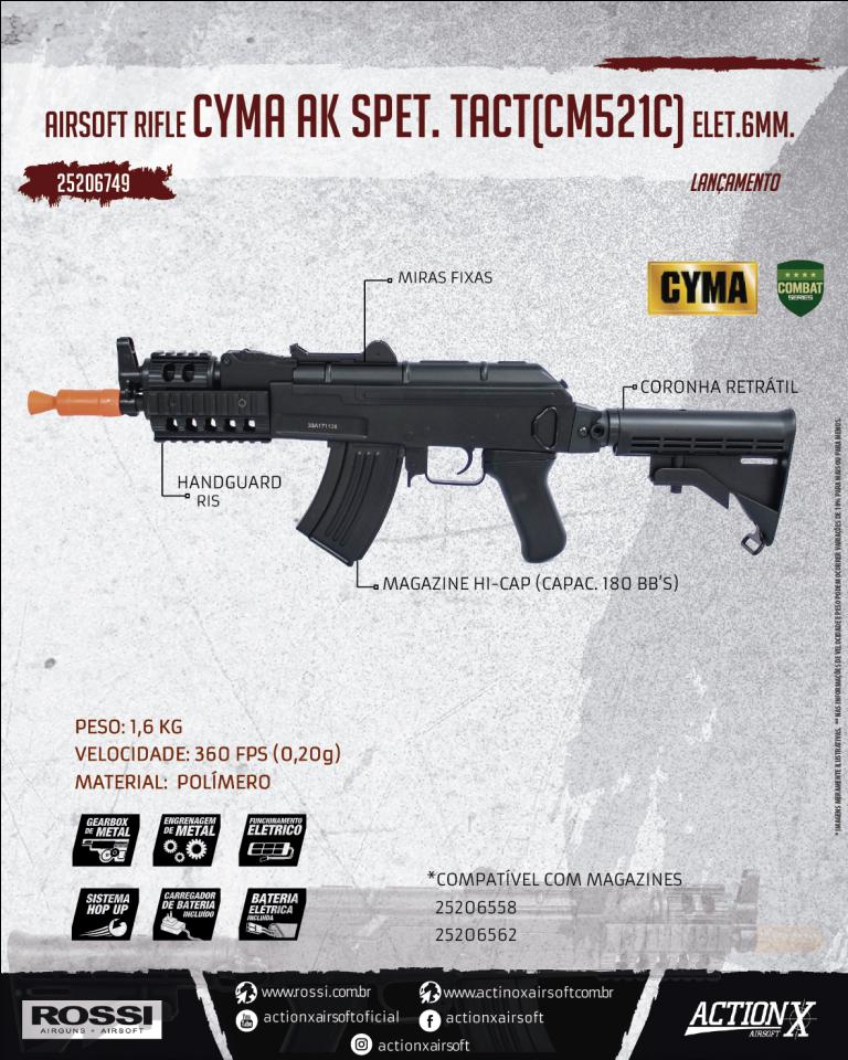 CYMA AK SPET. TACT (CM521C)