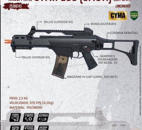 CYMA G36 (CM011)