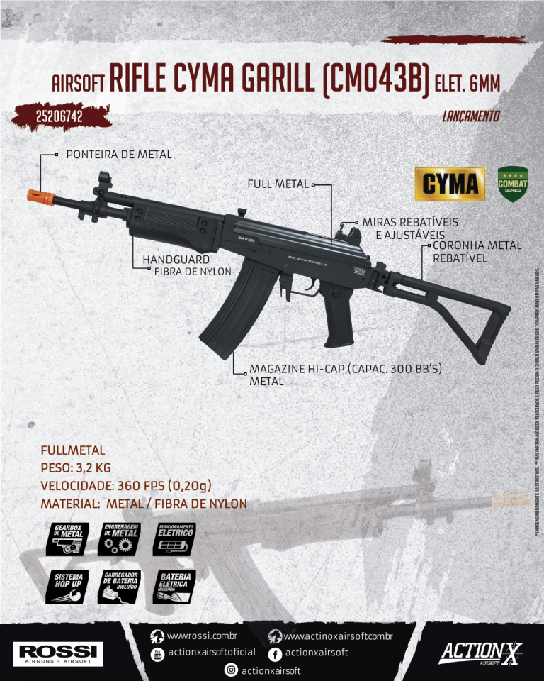 RIFLE CYMA GARILL (CM043B)