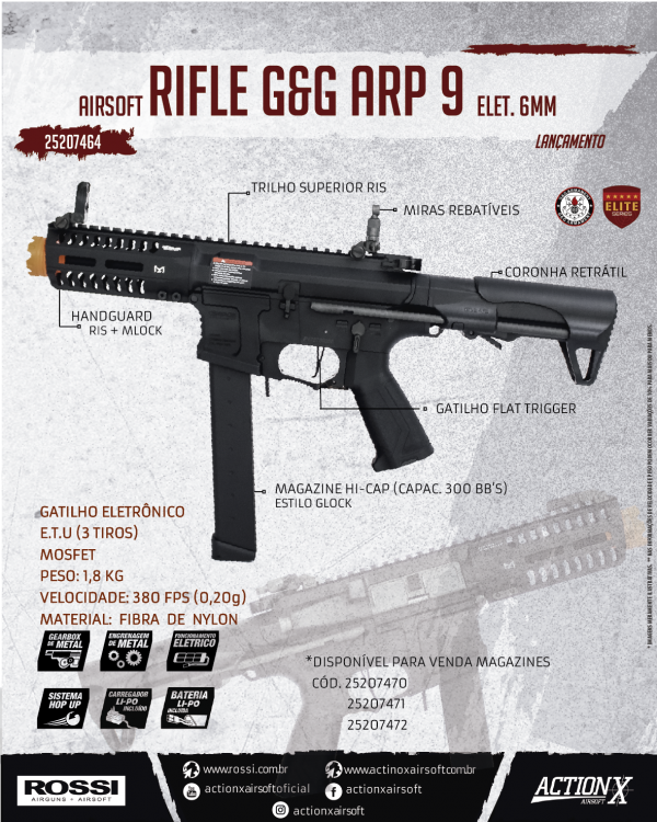 RIFLE G&G ARP 9