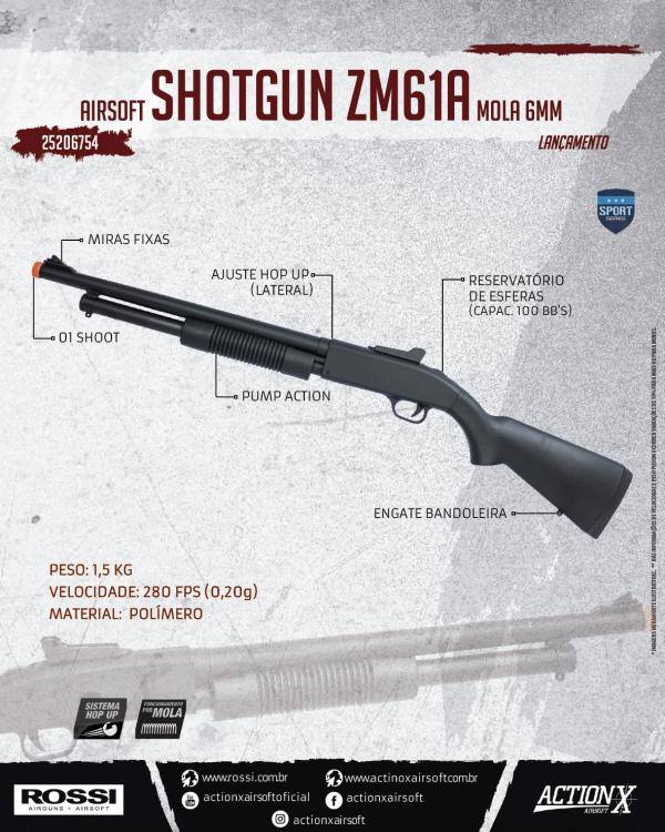 SHOTGUN ZM61A