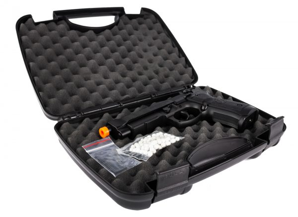 25207647 – AIRSOFT PIST HFC PT92 METAL GBB 6MM – Embalagem