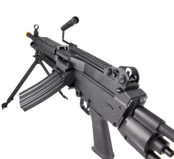 25207689 – AIRSOFT RIFLE LMG M249 LIGHT ELET 6MM (site5)